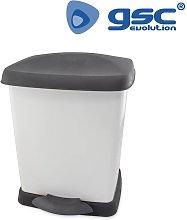 GSC - Cubo basura con pedal 22L