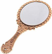 gszfsm001 - Espejo de maquillaje, estilo retro,