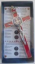 GTBITALY 10.004.11 - Cruz de plata roja San Benito