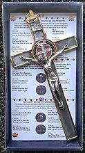 GTBITALY 10.004.21 Gris mármol piedra cruz de San