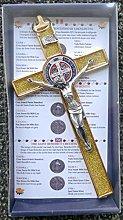 GTBITALY 10.004.21 Purpurina dorada Cruz de San