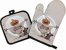 Guantes de horno, guantes de horno de Halloween,