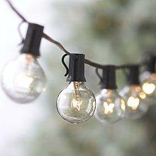 Guirnalda de luces, cuerda de luces conectables a
