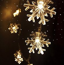 Guirnalda de luces LED de Navidad, cono de pino,