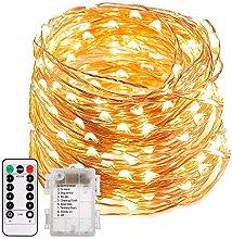 Guirnalda LED Luminosa a Pilas Función