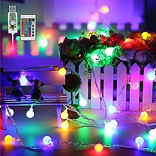 Guirnalda Luces, 100 LED Guirnaldas Multicolor Led
