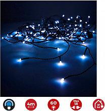 Guirnalda Luminosa Easy-Connect 4M 60 Leds Azul