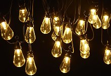 Guirnalda luminosa RUBEN - PVC - 20 bombillas -