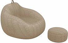 GUOXY Funda de sofá grande sin relleno de tela de