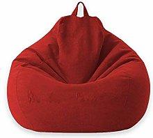 GUOXY Funda para sofá con forma de puf sin