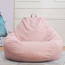 GUOXY Puf grande para sofá o tumbona sin relleno