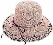 GWFVA Sombrero de Paja Trenzado para Mujer