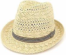 GWFVA Sombrero de sombrilla Panamá Verano Fedora