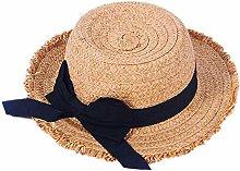 GWFVA Sombrero de sombrilla Sombrero de Paja de