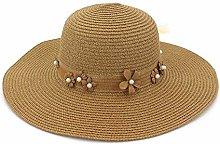 GWFVA Sombrero de sombrilla Sombrero de Paja para