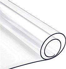 GXGX Mantel rectangular transparente de PVC,