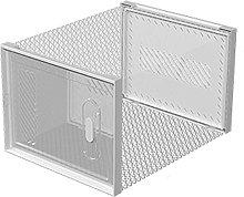 Gymqian Cajas de Zapatos Transparentes con Puerta