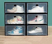 Gymqian Contenedores de Organizador de Zapatos