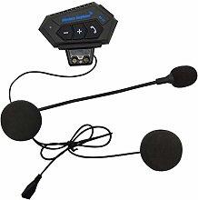 H HILABEE Intercomunicador Bluetooth para casco de