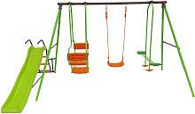 Habitat Et Jardin - Columpio, tobogan infantil -