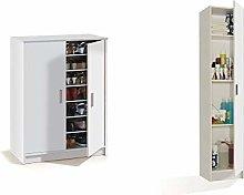 Habitdesign 007853O Mueble zapatero Basic, mueble