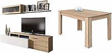 Habitdesign Mueble De Salón Comedor Moderno,