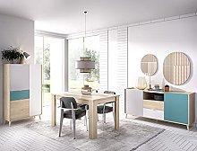 HABITMOBEL Conjunto Mueble Salon: Mesa Comedor