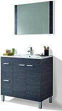 HABITMOBEL Mueble Lavabo + Espejo + Lavabo