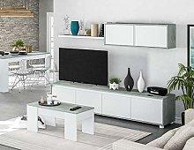 HABITMOBEL Pack Salon Completo: Mueble salón +