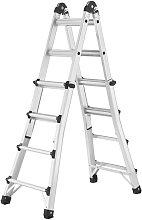 Hailo Escalera telescópica MTL123 cm aluminio