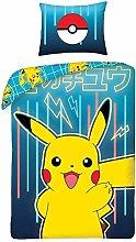 Halantex Juego de Ropa de Cama Pokemon Picachu