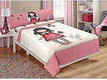 Halantex Santoro - Juego de cama para niña y