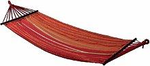 Hamaca colgante - color :Rayas Rojas - Rayas Rojas