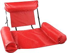 Hamaca flotante de la piscina, silla reclinable