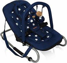 Hamaca mecedora bebés Relax Classic estrella azul