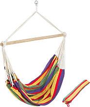 Hamaca-sillón XXL de colores con bolsa - sillón