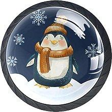 Haminaya Tiradores Armario Pingüino de Dibujos