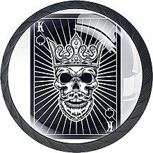 Haminaya Tiradores Armario Tarjeta de Rey Tirador