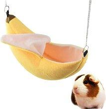 Hamster Hanging House Hamaca Diseño de plátano