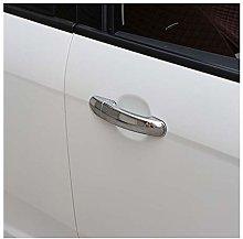 Handle ABS Chrome Puerta De Coche Ajuste De La