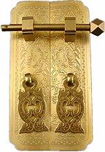 HAOJON Tirador de puerta de cobre antiguo para