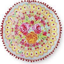 Happiness Cojín decorativo WILD ROSE rojo 55x55 cm