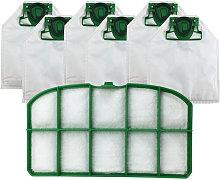 Happyshopping - 6 piezas de bolsas de polvo + 1