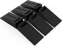 Happyshopping - 6 piezas de silicona tope de cuna