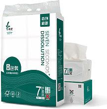 Happyshopping - 8 paquetes de 3 capas de toallas
