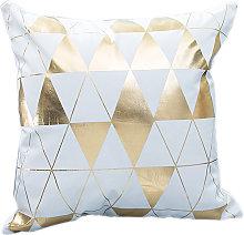 Happyshopping - Funda de almohada decorativa para