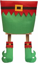 Happyshopping - Fundas para sillas navidenas,