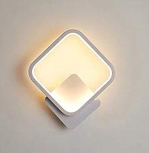 Happyshopping - Lampara de pared LED redonda /