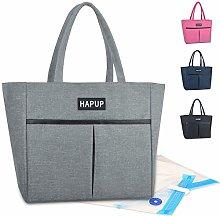 HAPUP Bolsa Isotermica 10L Lunch Bag Bolsa Nevera
