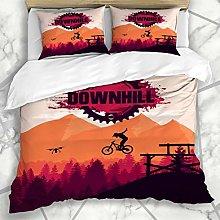 HARXISE Ropa de cama - funda nórdica Ciclismo